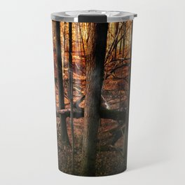 Sky Fire - surreal landscape photography Travel Mug