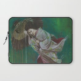 The Geisha on the Washing Line Laptop Sleeve