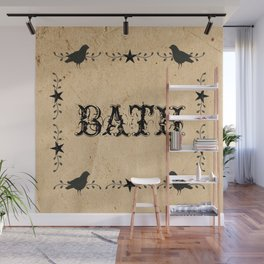 Primitive Bath Wall Mural