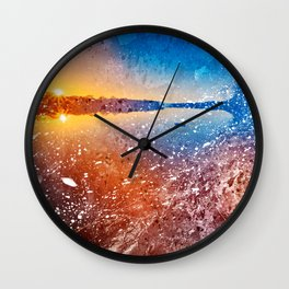 Acrylic Potomac Sunset Wall Clock