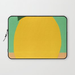 Lemon With Two Leaves Laptop Sleeve