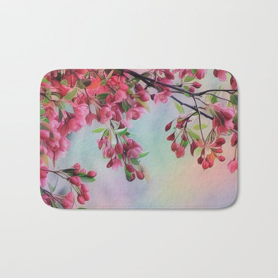 Spring Is In The Air Bath Mat