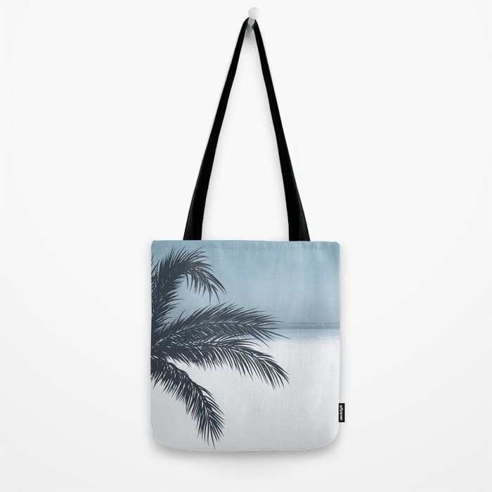 Palm and Ocean Tote Bag