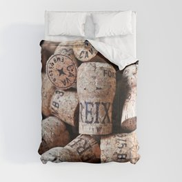 Cork of Champagne Comforters