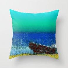 fen painting Throw Pillow