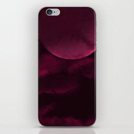 Crimson Moon iPhone Skin