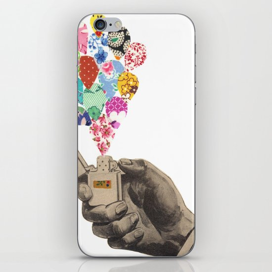 The Flame iPhone & iPod Skin