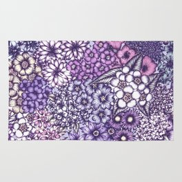 Faded Blossoms Rug