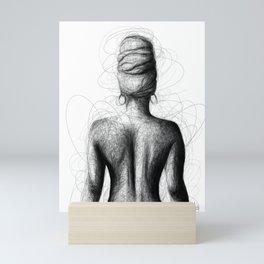 She Is Mini Art Print