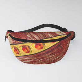 Wood and jewels Fanny Pack