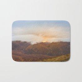 Sunrise over Mourne Mountains Northern Ireland Bath Mat