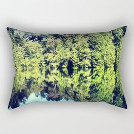 Reflection on Fragrance lake in Northern Washington Rectangular Pillow