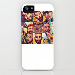 Silly Selfie Project iPhone Case