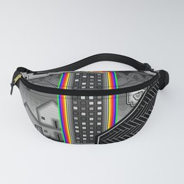 Two City Hearts Fanny Pack