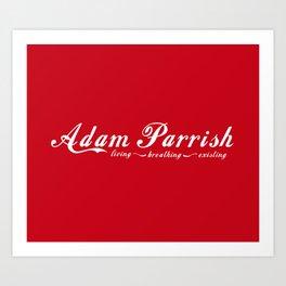 Adam Parrish Art Print