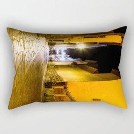 Nocturnal empty street Rectangular Pillow