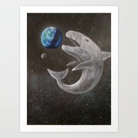 The Whale and the World Art Print