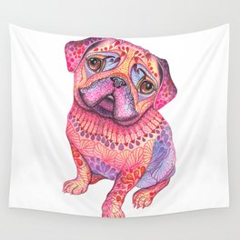Pugberry Wall Tapestry