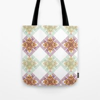 clover Tote Bags featuring Clover by Wood + Ink