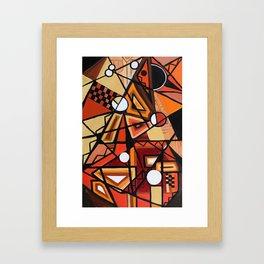 Geometric Composition Framed Art Print