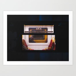 Train Stories Art Print