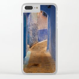 Moroccan Arch Clear iPhone Case