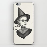 witchcraft iPhone & iPod Skins featuring Witchcraft by Caitlin McCarthy
