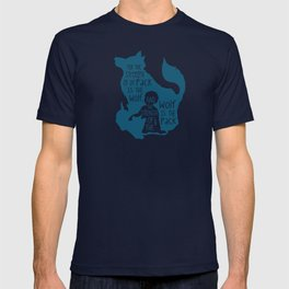 Strength of the Pack - Wolf and Child T-shirt