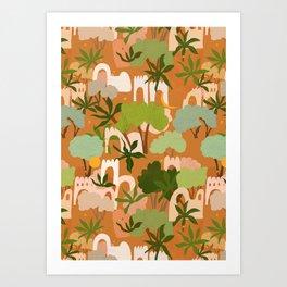 Life in The Jungle Art Print