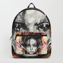 Face Art Painting Backpack
