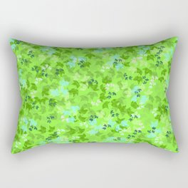 Pattern floral bloom Rectangular Pillow