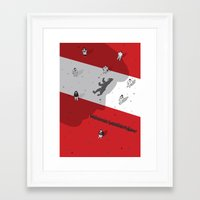 political Framed Art Prints featuring Historical Political Figure by Pier Antonio Zanini