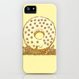 In Bloom Donut iPhone Case