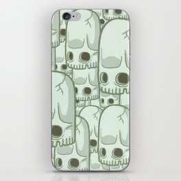 Skullbean Army iPhone Skin