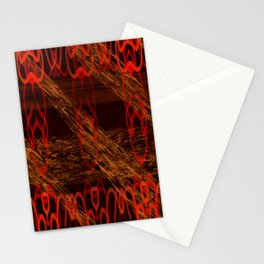 Autumn Tribal II Stationery Cards