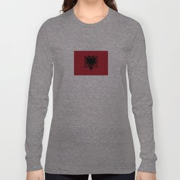 albania country flag Long Sleeve T-shirt