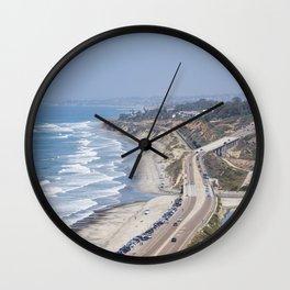 Pacific Coast Highway, California Wall Clock