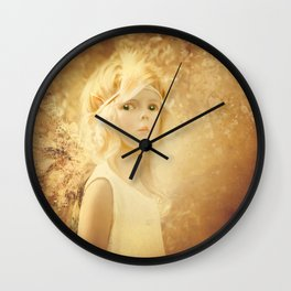 PAPER FAIRY ENCHANTMENT Wall Clock