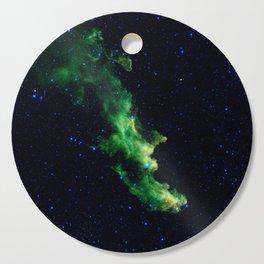Galaxy: Green Witch's Head Nebula Cutting Board