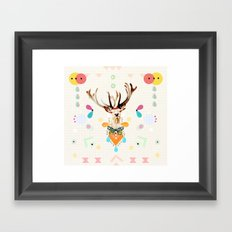 what's the matter dear? Framed Art Print