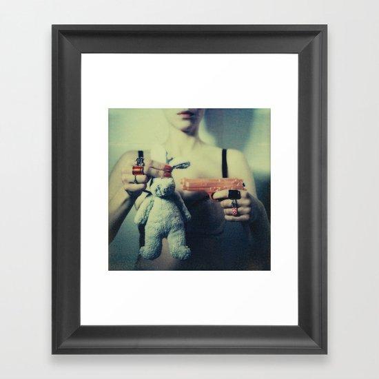 The Bunny Framed Art Print