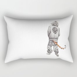 Fierce Attitude Rectangular Pillow