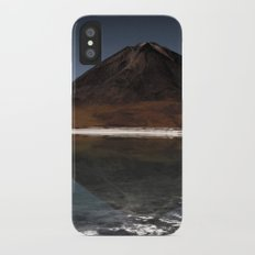 Mountain of the lake Slim Case iPhone X