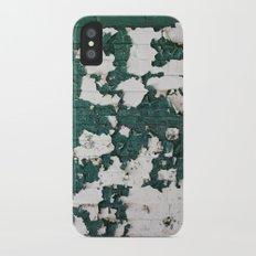In Green iPhone X Slim Case