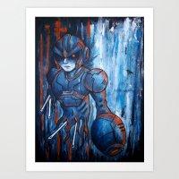 hunter x hunter Art Prints featuring Irregular Hunter X-2 by Doom