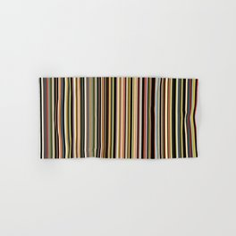 Old Skool Stripes - The Dark Side Hand & Bath Towel