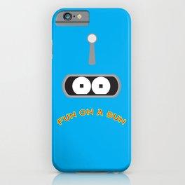 FUN ON A BUN iPhone Case