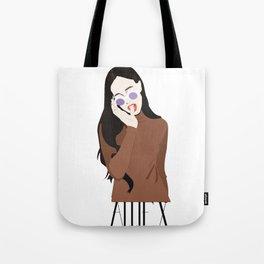 ALLIE X Tote Bag