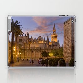 Seville, The Cathedral at dusk Laptop & iPad Skin