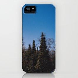 Trees in Muskoka iPhone Case